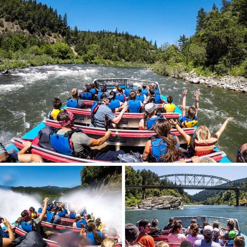 Jet Boating on the Rogue River, Gold Beach. One of the best things to do in Oregon