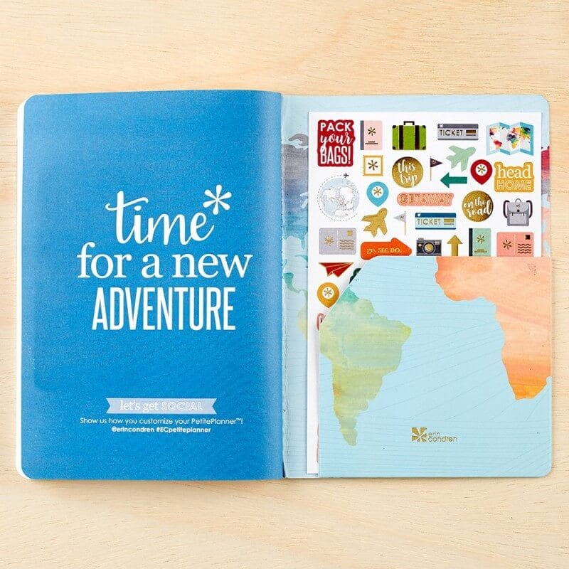 travel journal gift idea for older kids