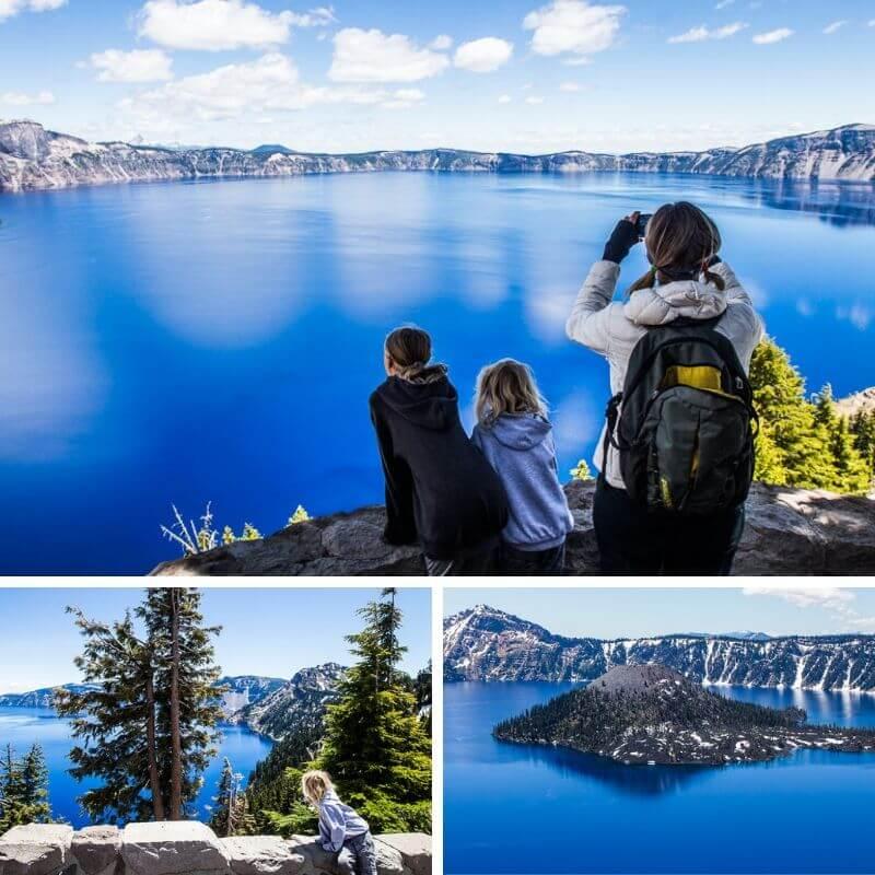 Parc national du lac Crater, Oregon