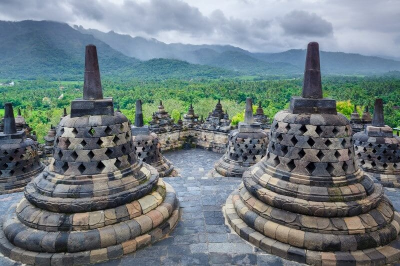 Borobodur temple Java Indonesia