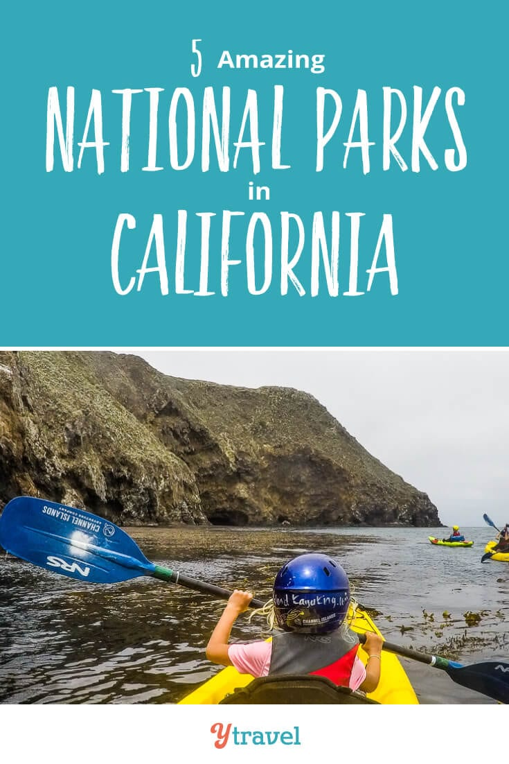 If you are planning to visit California, put these 5 national parks in California on your California road trip itinerary. Don't take a California vacation before reading these California travel tips!