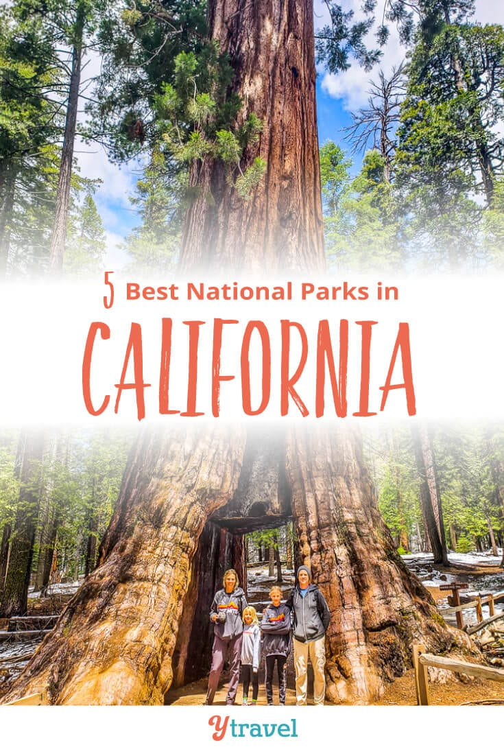 Planning a California road trip? Put these 5 national parks in California on your California itinerary. Don't take a California vacation before reading these California travel tips!