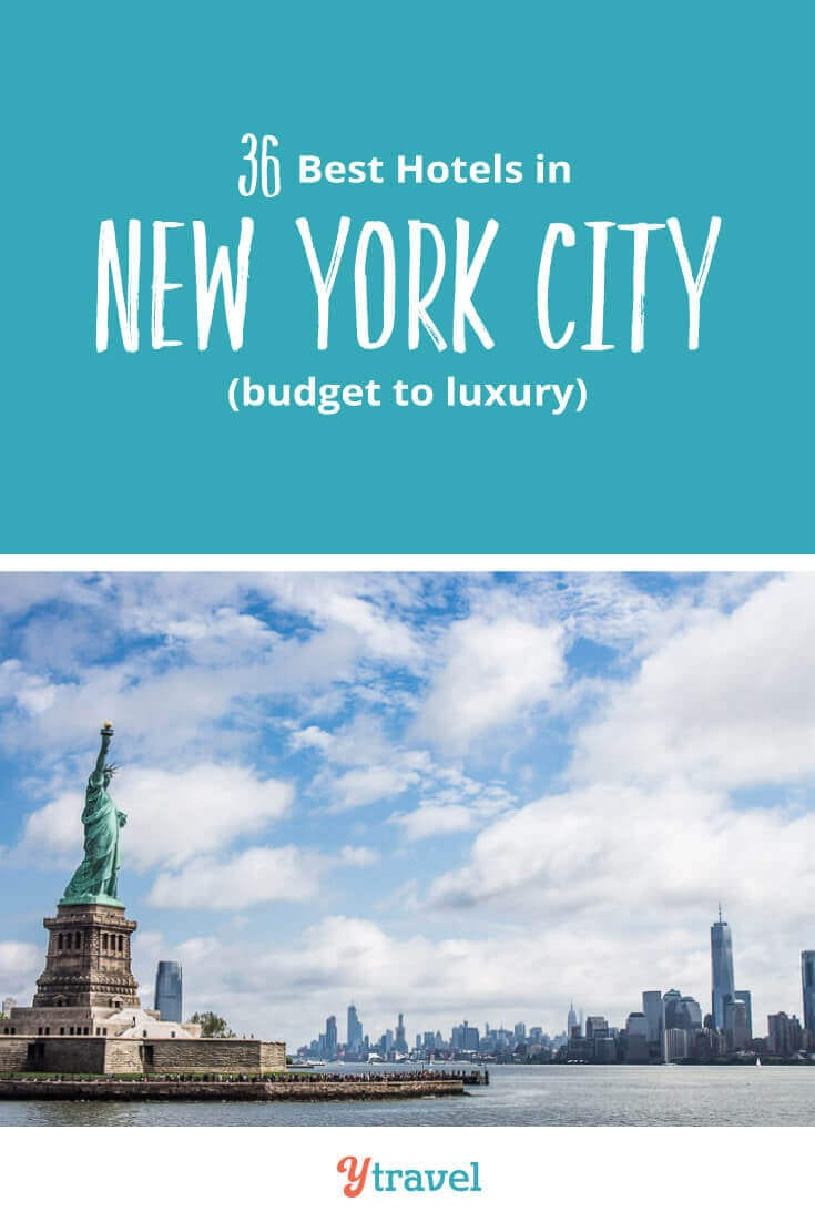 Planning to visit NYC? Looking for the best New York City hotels? Check out this list of the best 3, 4 and 5 star hotels in NYC in the most popular districts of Manhattan. Don't visit New York before reading these NYC travel tips.
