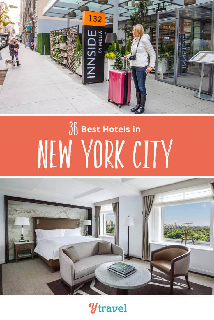 Planning to visit New York? Looking for the best NYC hotels? Check out this list of the best 3, 4 and 5 star hotels in New York City in the most popular districts of Manhattan. Don't visit New York before reading these NYC travel tips.