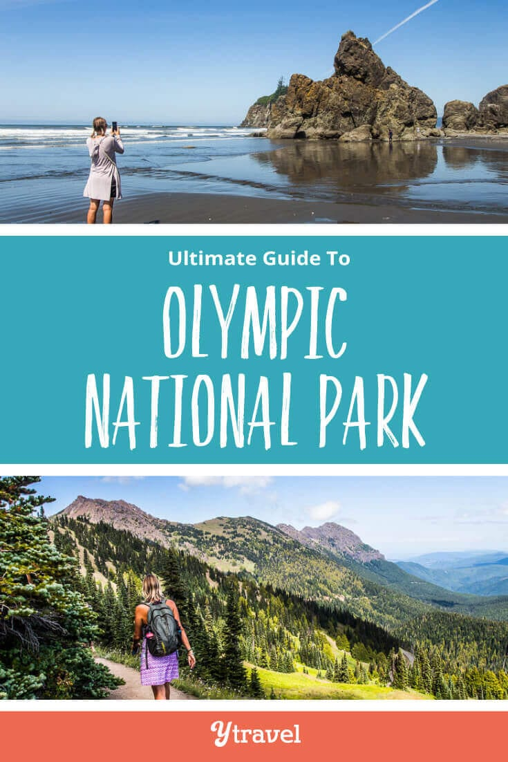 Planning a trip to Olympic National Park? Here are 16 incredible things to do in Olympic National park in Washington State including best hikes, lakes, waterfalls, and beaches. Don't visit Washington State without visiting Olympic National Park on your Washington road trip.