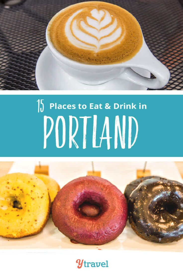 Planning to visit Portland? If you love food from around the world plus treats like donuts, coffee, beer, burgers, and ice cream, get excited, Portland Oregon has it. On the blog are our tips on places to eat in Portland, breweries in Portland, coffee shops in Portland & much more. Don't take a Portland vacation before reading these Portland travel tips!