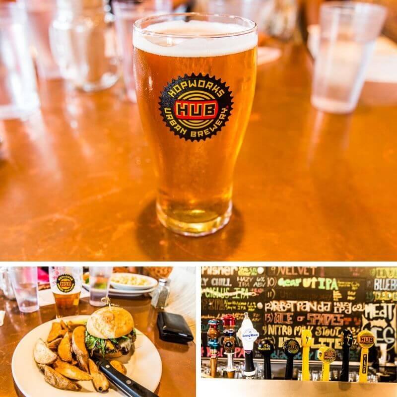 Hopworks Urban Brewery (HUB)