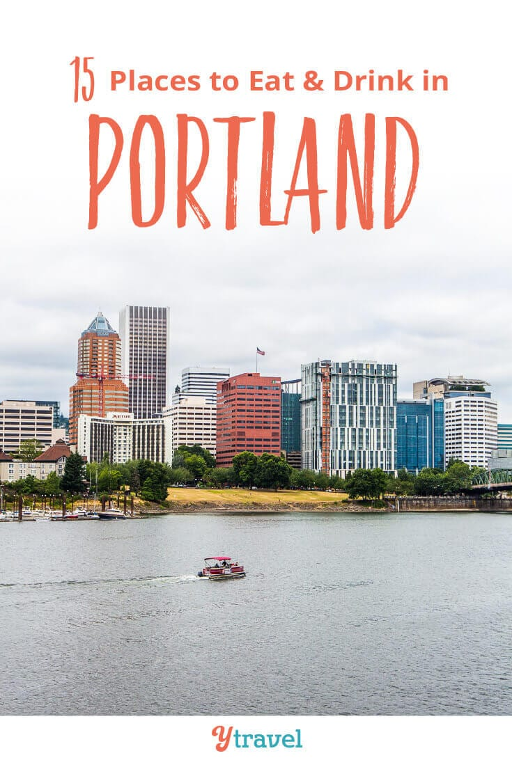 Planning to visit Portland? Check out this list of 15 places to eat in Portland, plus best breweries in Portland, coffee shops in Portland and much more. Don't take a Portland vacation before reading these Portland travel tips!