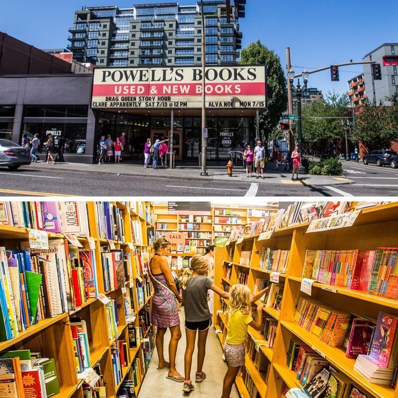 Ville de Books de Powell, Portland, Oregon