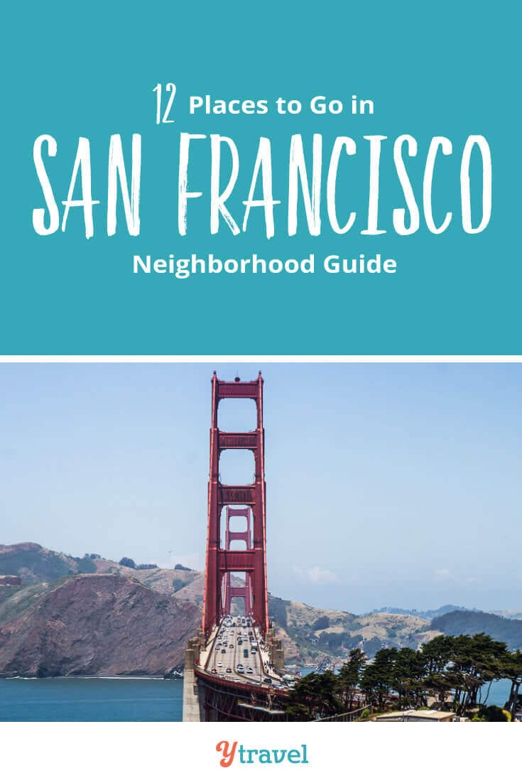 Planning to visit San Francisco? Check out this guide to the best places to go in San Francisco neighborhoods. Here are 12 places in San Francisco California including tips on where to eat and stay in each neighborhood. Don't visit San Francisco before reading this San Francisco travel guide.
