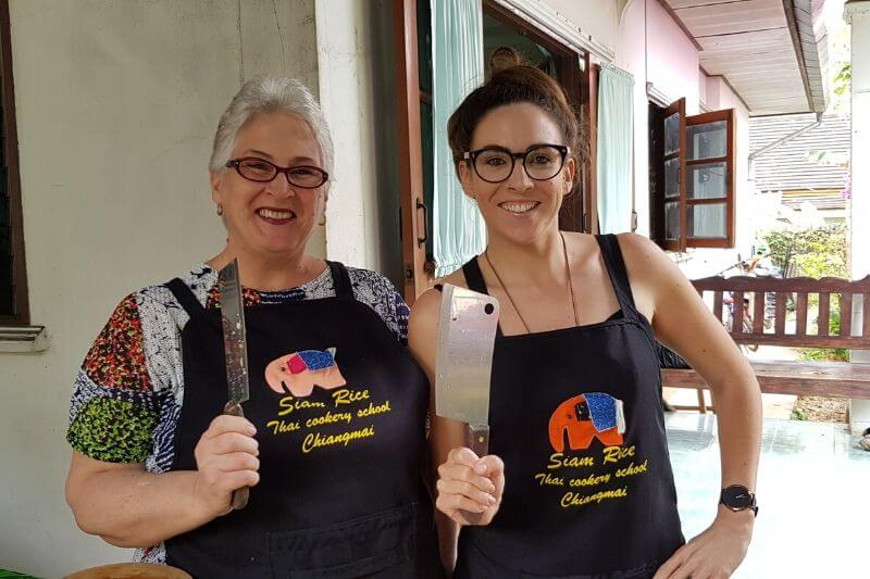 Learn to cook Thai dishes at a Thai cooking class