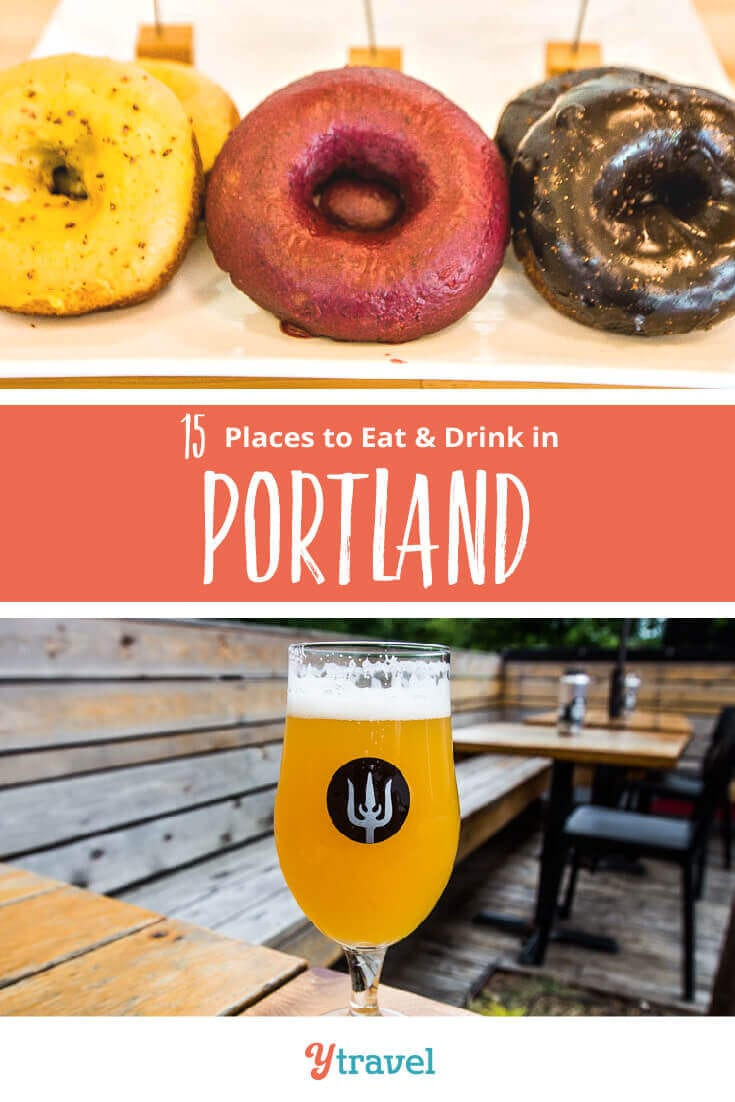 Planning a Portland trip? Check out this list of 15 places to eat in Portland Oregon, plus tips on the best breweries in Portland, coffee shops in Portland and much more. Don't take a Portland vacation before reading these Portland travel tips!