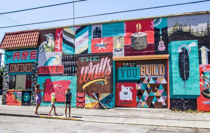 Murals in Portland, Oregon