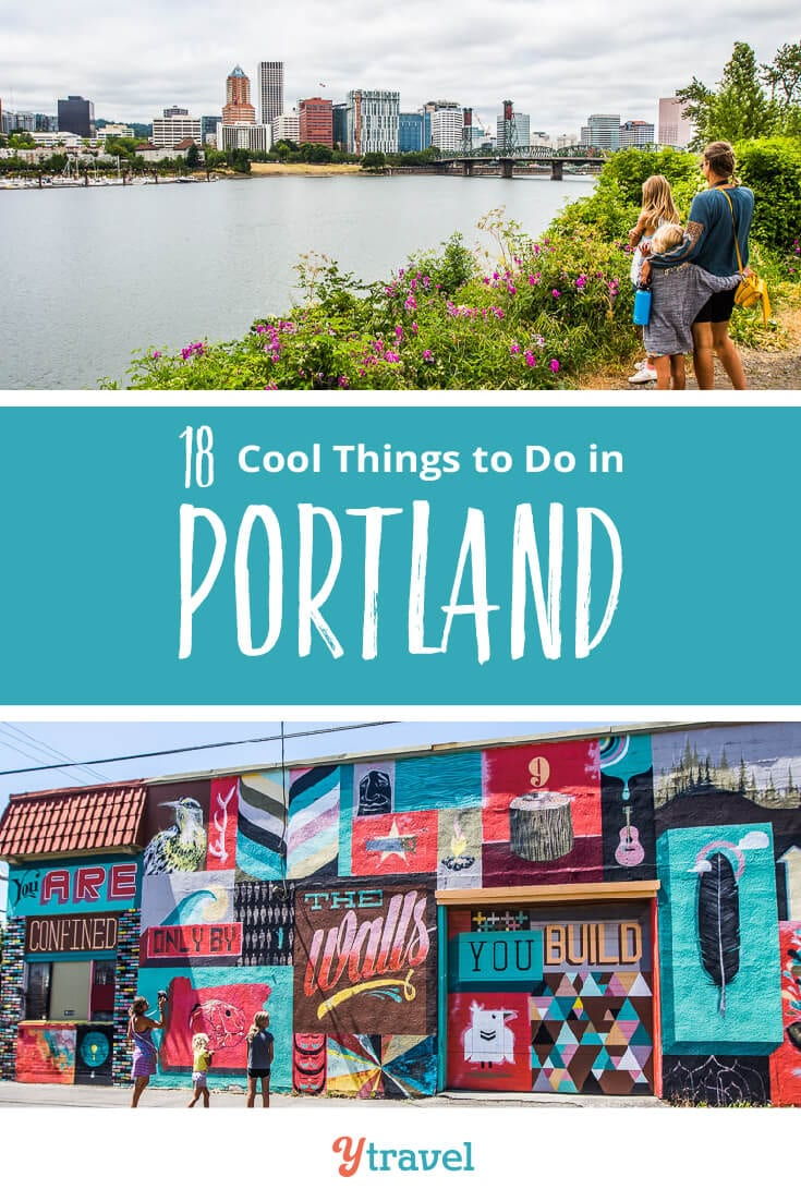 Planning to visit Portland? Check out this list of 18 things to do in Portland Oregon including tips on places to eat and drink, and where to stay. Don't take a Portland vacation before reading these Portland travel tips!