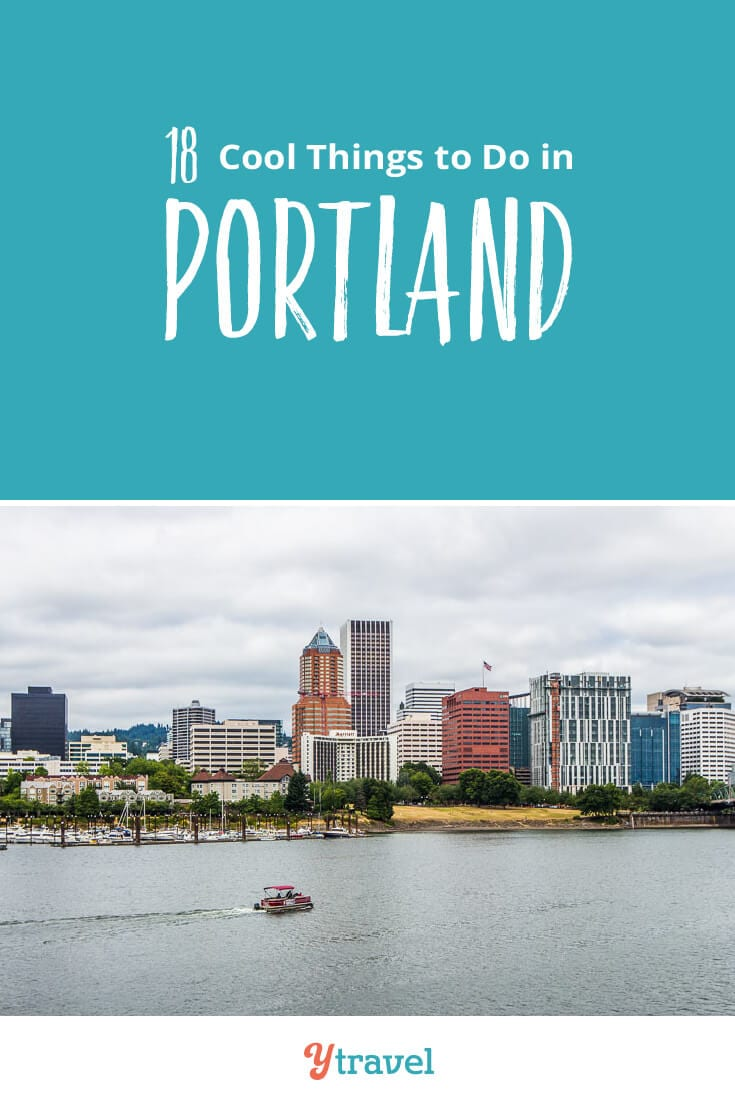 Going to visit Portland? Check out this list of 18 best things to do in Portland including tips on places to eat and drink, and where to stay. Don't take a Portland vacation before reading these Portland travel tips!