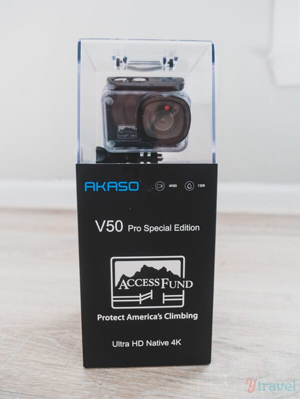 AKASO V50 Pro camera special edition