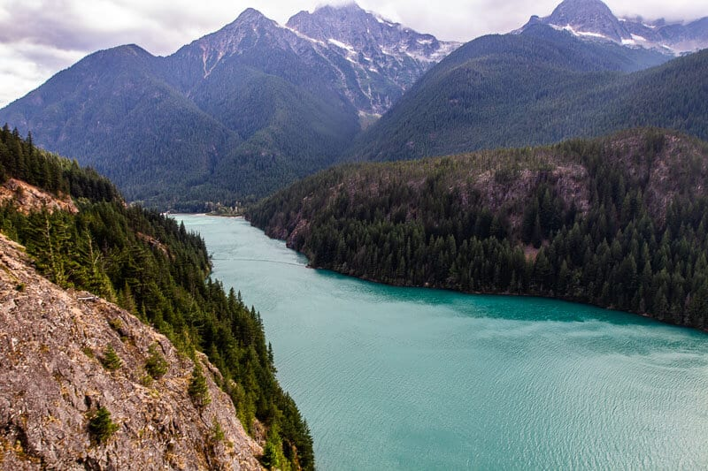 Ross Lake, North Cascades National Park, Washington