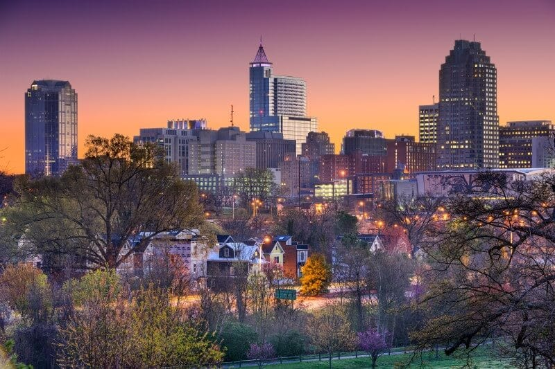 Raleigh North carolina cool places usa