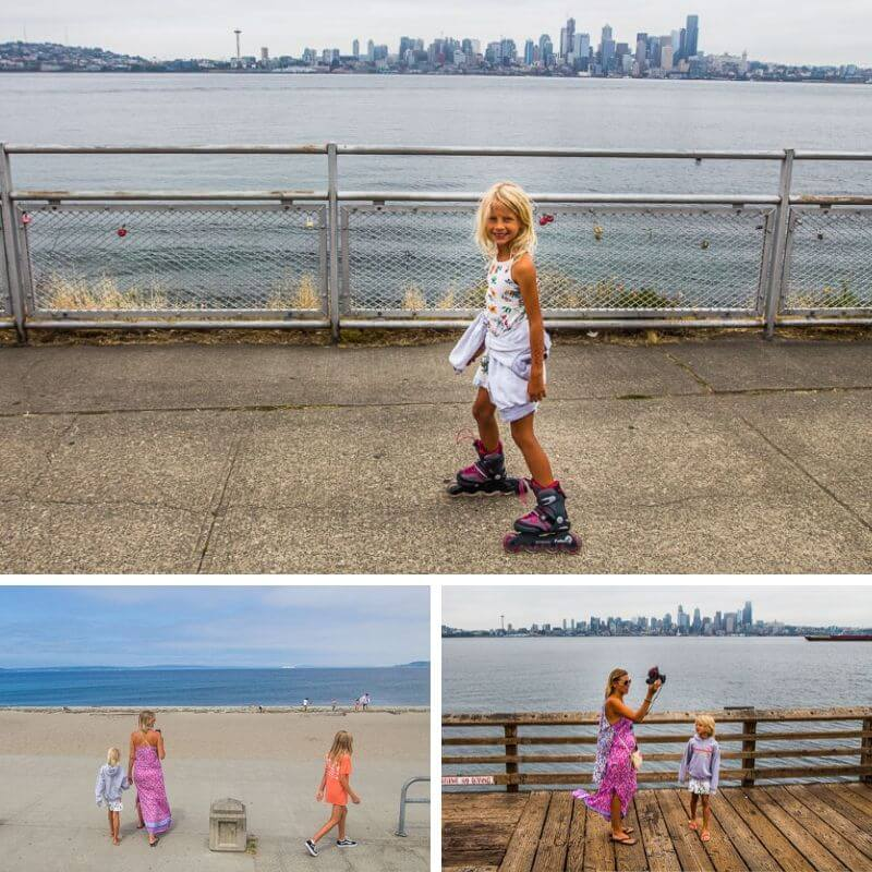 Alki Beach, Seattle, Washington