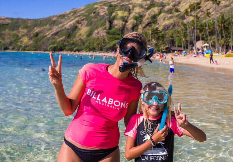 Plongée en apnée à Hawaï