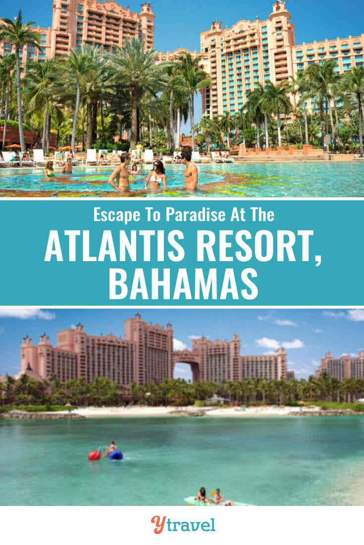 Planning to visit The Bahamas? The Atlantis Resort on Paradise Island in the Bahamas is calling your name. Check out this guide to the Atlantis and see why this resort in Nassau can make your Bahamas vacation dreams a reality. | Bahamas travel | Atlantis Paradise Island | Atlantis hotel | bucket list travel | Nassau Bahamas | luxury travel | family travel | resorts | travel.