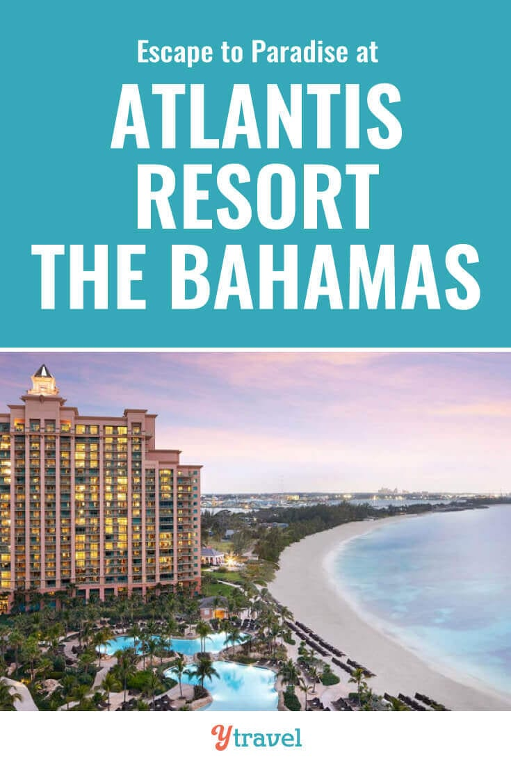 Dreaming of paradise? The Atlantis Resort on Paradise Island in the Bahamas is calling your name. Check out this guide to the Atlantis and see why this resort in Nassau can make your Bahamas vacation dreams a reality. | Bahamas travel | Atlantis Paradise Island | Atlantis hotel | bucket list travel | Nassau Bahamas | luxury travel | family travel | resorts | travel.