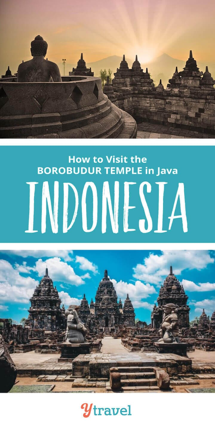 Looking for Indonesia travel tips? Don't miss visiting the ancient Borobudur Temple when in Java, Indonesia. It's one of the most amazing things to do in Indonesia. Get tips on how to get there, taking a tour, where to stay, and more! Put this on your Asia travel bucket list!