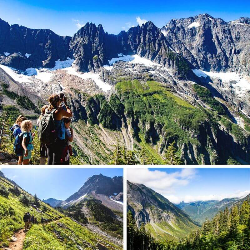 Cascade Pass Trail, North Cascades National Park