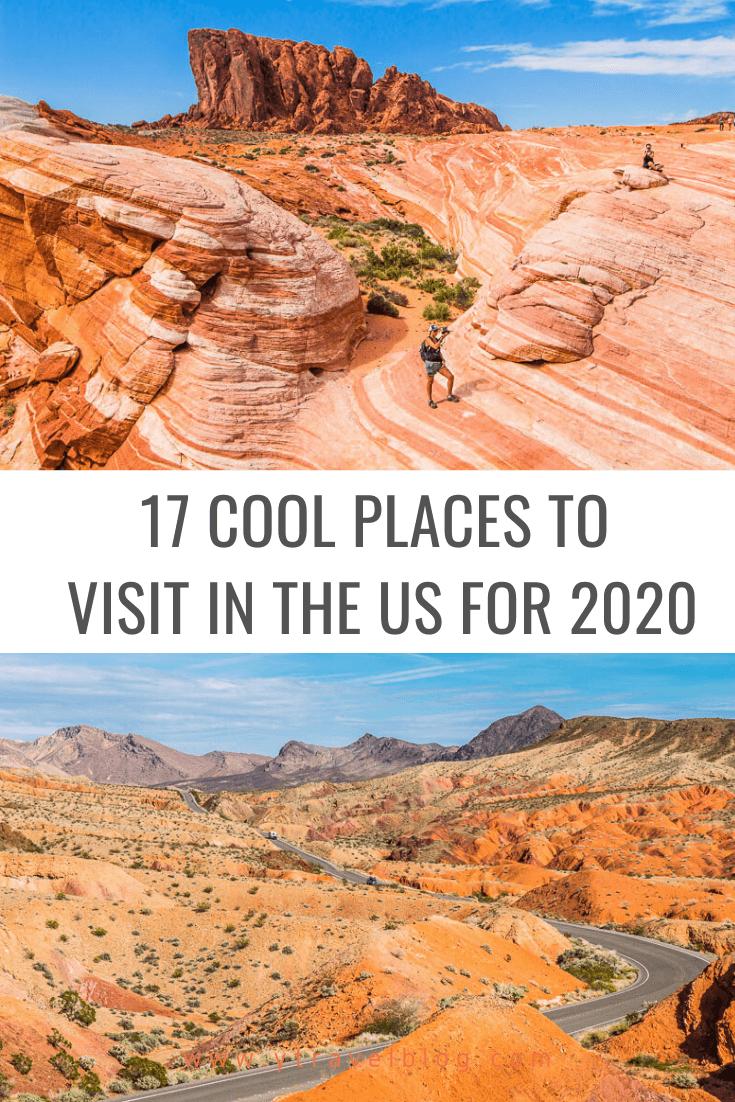 endroits sympas à visiter aux États-Unis pour 2020