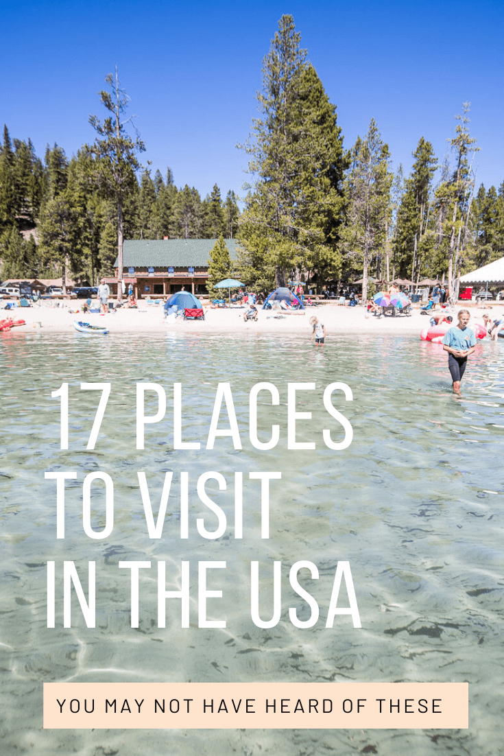 endroits sympas à visiter aux États-Unis