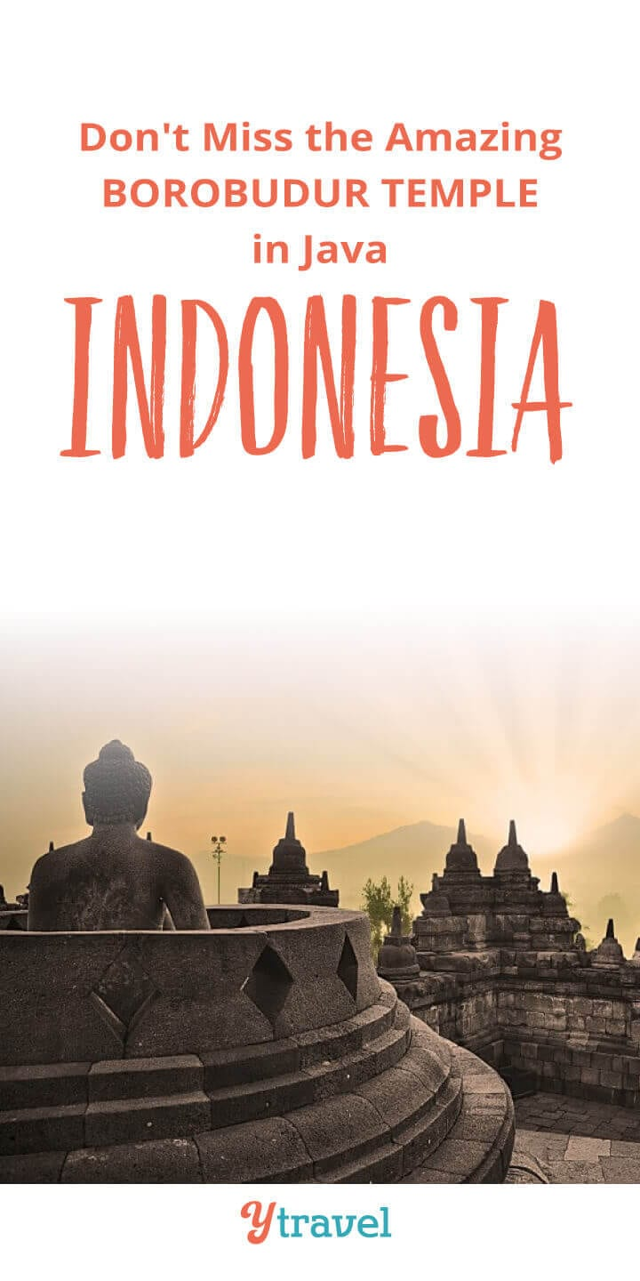 Planning to visit Indonesia? The ancient Borobudur Temple in Java is one of the best things to do in Indonesia. Get tips on how to get there, taking a tour, where to stay, and more! Put this on your Asia travel bucket list!