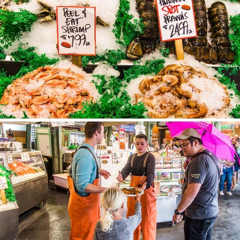 Pike Place Fish shop in Seattle