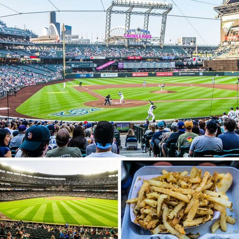 Seattle Mariners baseball game