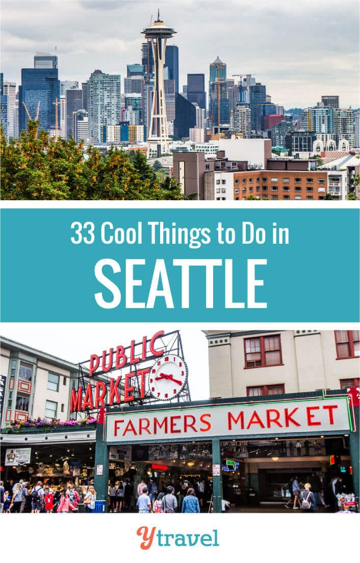Planning to visit Seattle? Here are 33 of the best things to do in Seattle plus tips on where to eat, where to find the best coffee, and where to stay. #Seattle travel tips | Washington State | Seattle vacation | Seattle trip | USA travel | travel | travel tips | Coffee in Seattle | Seattle coffee | family travel | vacation.