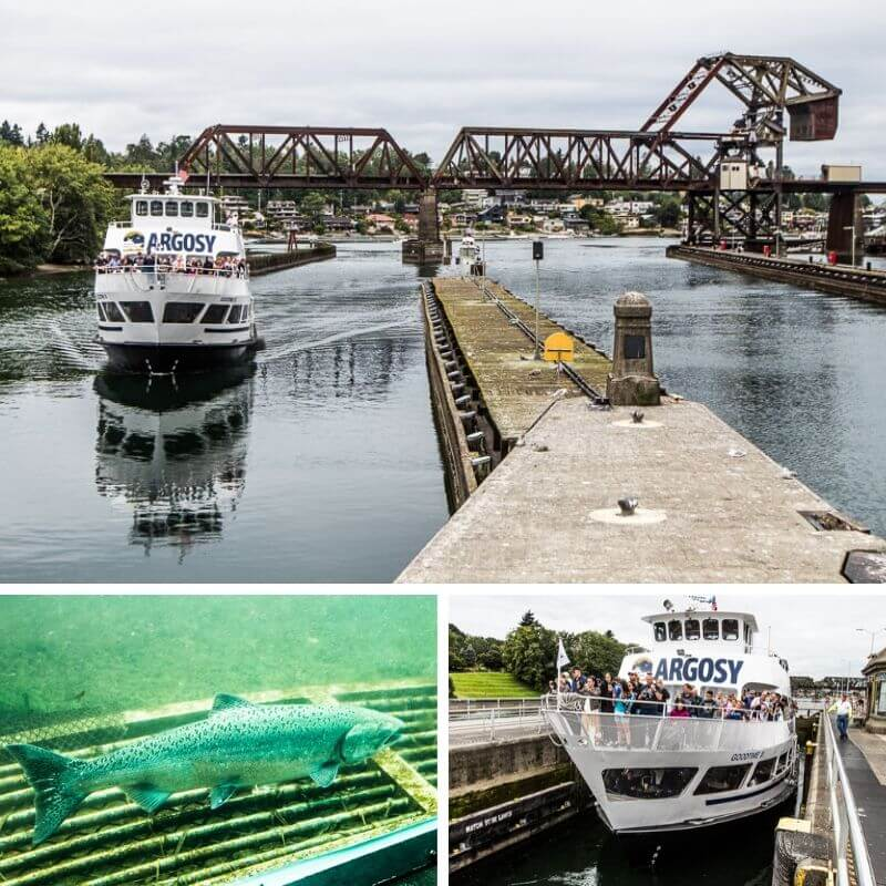 Ballard Locks - one of the popular things to do in Seattle