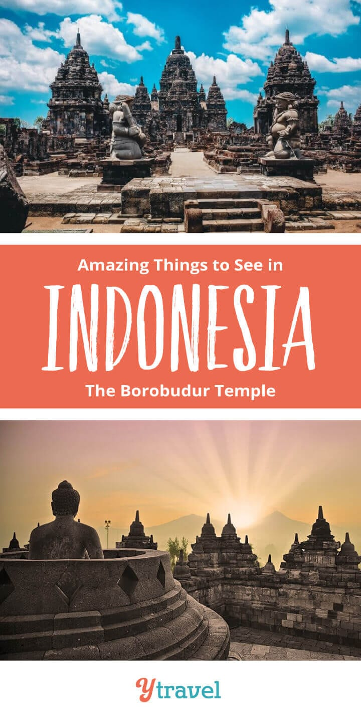 Planning to visit Indonesia? Don't miss visiting the ancient Borobudur Temple when in Java, Indonesia. It's one of the most amazing things to do in Indonesia. Get tips on how to get there, taking a tour, where to stay, and more! Put this on your Asia travel bucket list!