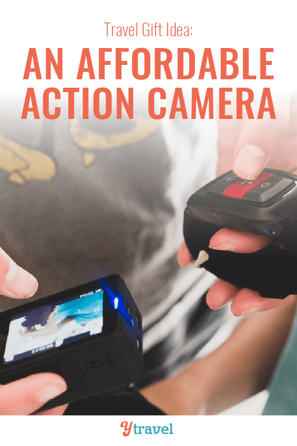 travel gift idea action camera