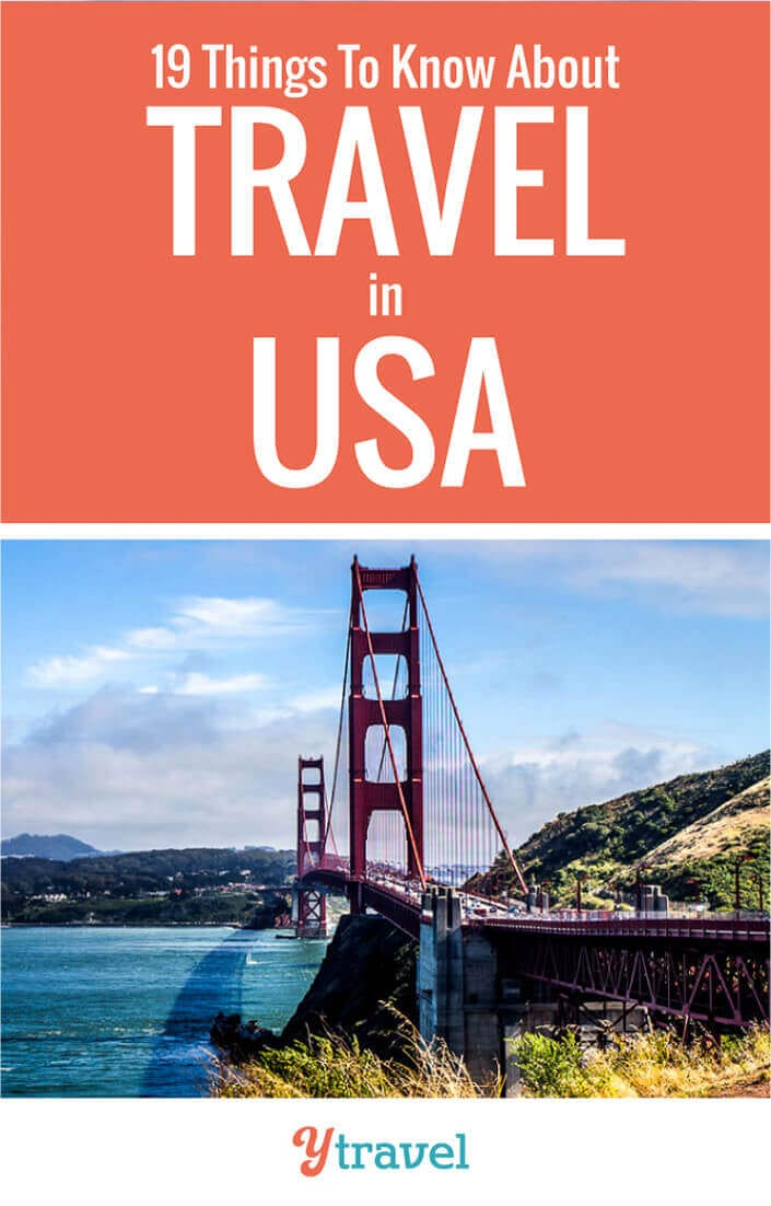 Planning a USA trip? Here are 19 essential things to know before you travel in USA so you can relax, feel safe, and have a fun time. Don't take an America trip before you read these USA travel tips.