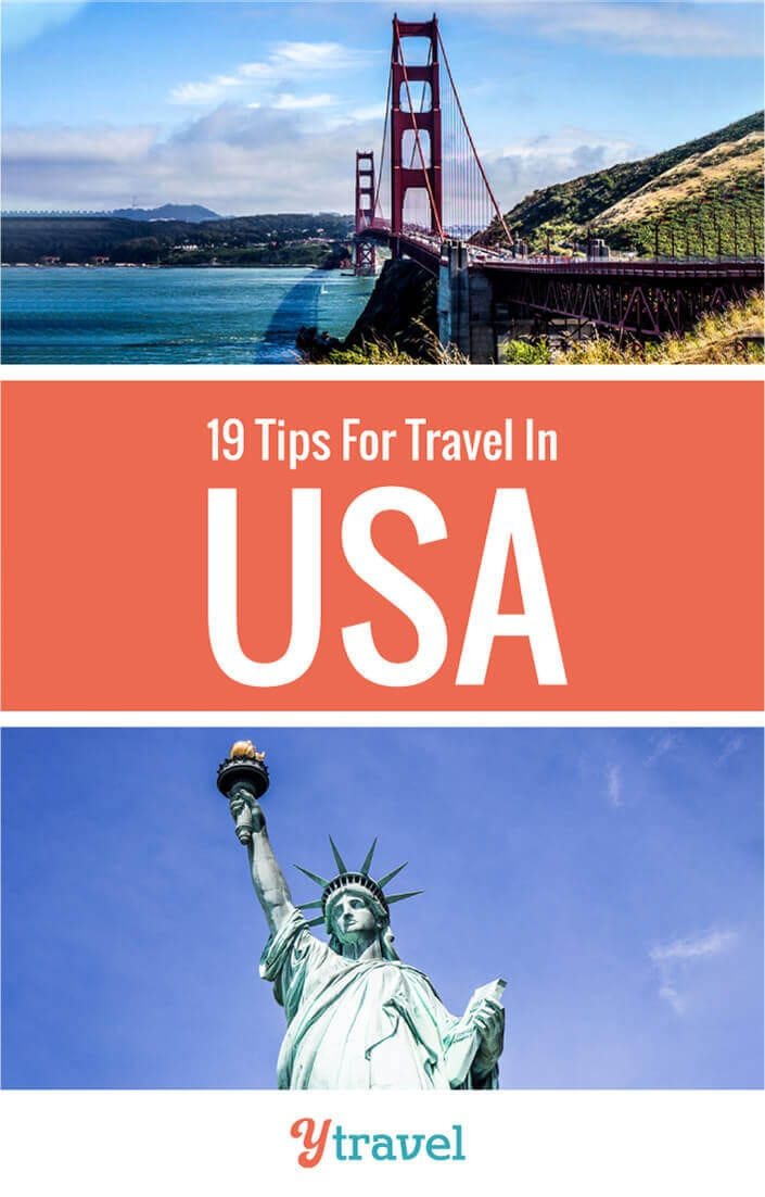 Looking for USA travel tips? Here are 19 essential things to know before you travel in USA so you can relax, feel safe, and have a fun time. Don't take a USA trip before you read this USA travel guide.