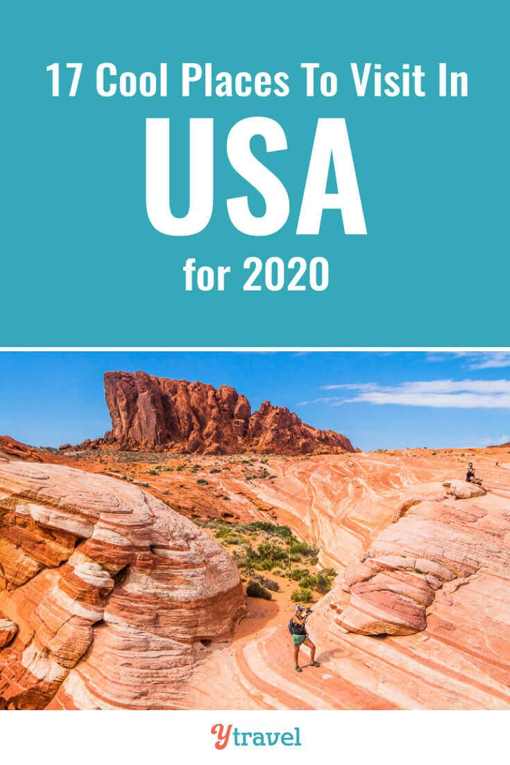 Planning a USA trip? Here are 17 cool places to visit in the USA for your USA travel bucket list that you may not have heard of. Don't take a USA vacation or USA road trip before seeing these USA travel tips!