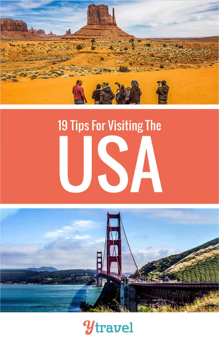 Planning to visit the USA? Here are 19 essential things to know before you travel in USA so you can relax, feel safe, and have a fun time. Don't take an America trip before you read these USA travel tips.