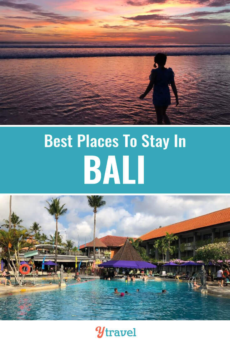 Planning a trip to Bali Indonesia? Here are 10 amazing places to stay in Bali with kids that adults love too. Check out these hotels in Bali that come with kids clubs, pools, and family friendly rooms. Don't take a Bali vacation before reading about these family-friendly resorts in Bali.
