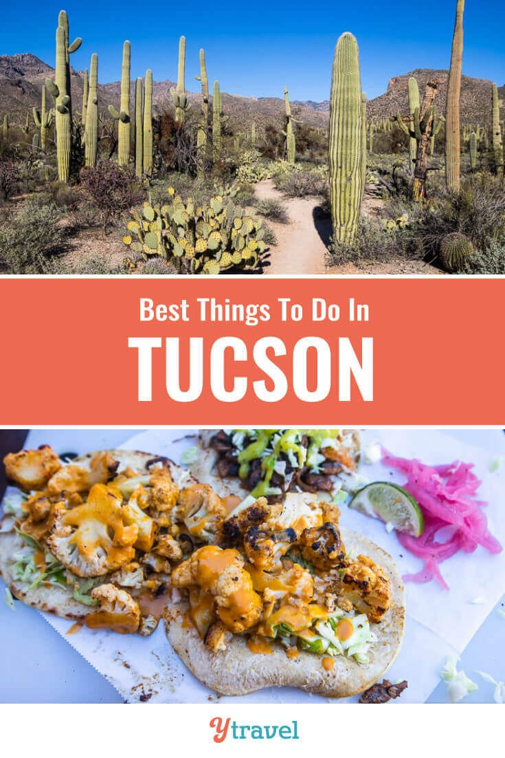 Planning a trip to Tucson Arizona? Here is a 36 hour itineray of the best things to do in Tucson, plus where to eat, drink, and stay. | Tucson Travel | Arizona Travel | Southwest USA | USA Travel | Hiking | Vacation | Adventure Travel