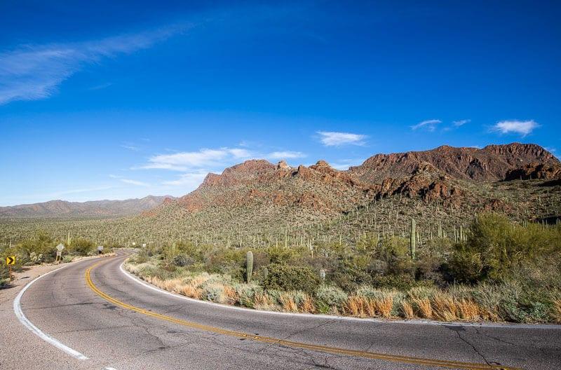 Gates Pass Scenic Drive