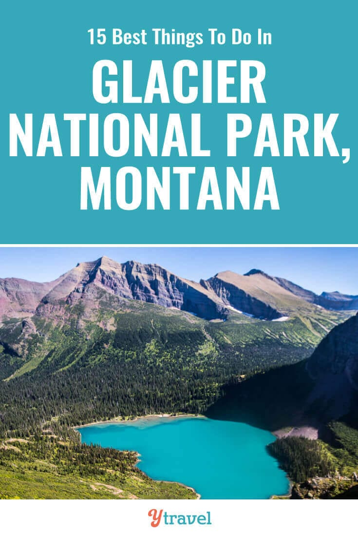 Glacier National Park is incredible. Check out this list of 15 best things to do in Glacier National Park Montana including tips on how to get there, best hikes, best scenic drive, wildlife spotting, and where to stay. | National Parks | Montana Travel | USA Travel | Family Travel | Hiking | National Park | Travel Tips | Vacation | Adventure Travel.