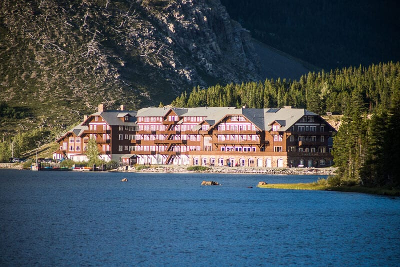 Many Glacier Hotel - place to stay in Glacier