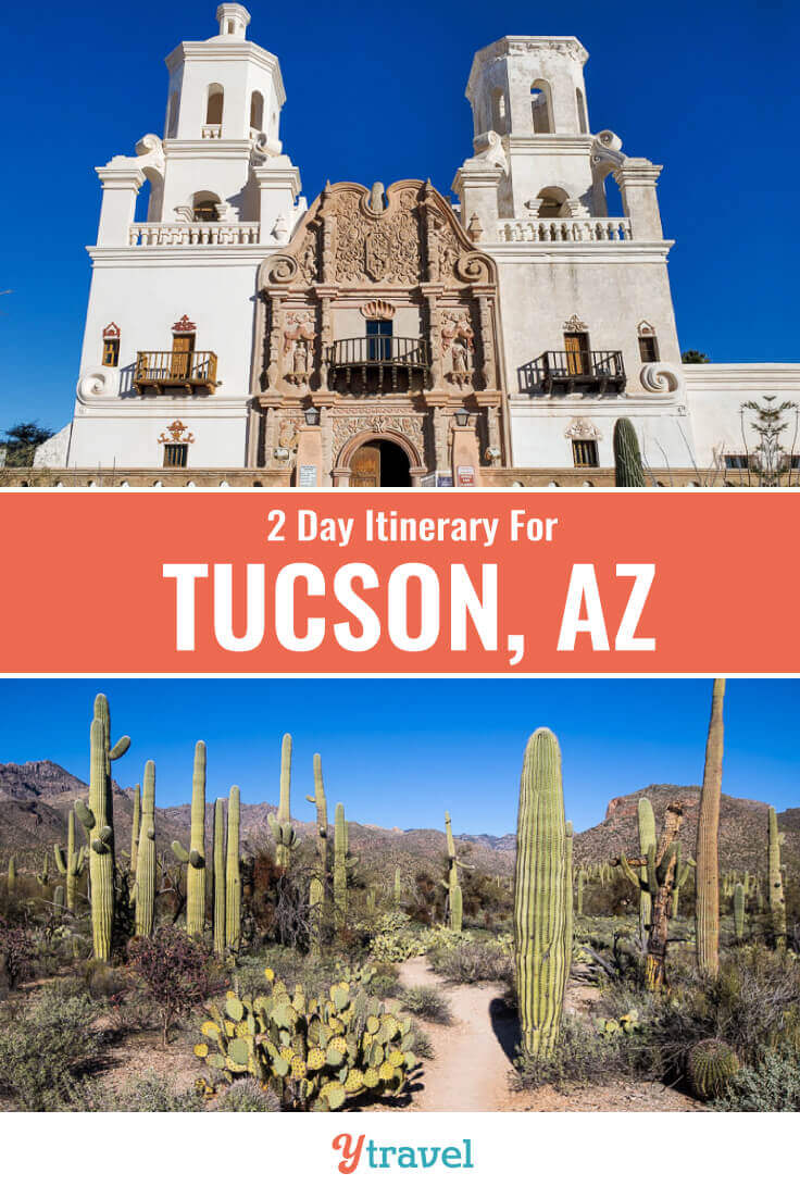 Planning to visit Tucson? Here is a 36 hour itineray of the best things to do in Tucson Arizona, plus where to eat, drink, and stay. | Tucson Travel | Arizona Travel | Southwest USA | USA Travel | Hiking | Vacation | Adventure Travel
