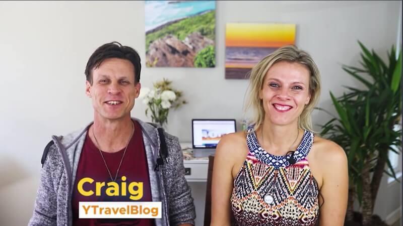 et des projets de blog de voyage participent au voyage