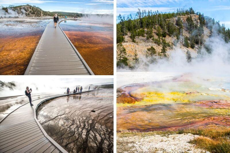 Midway Geyser Basin, Yellowstone NP