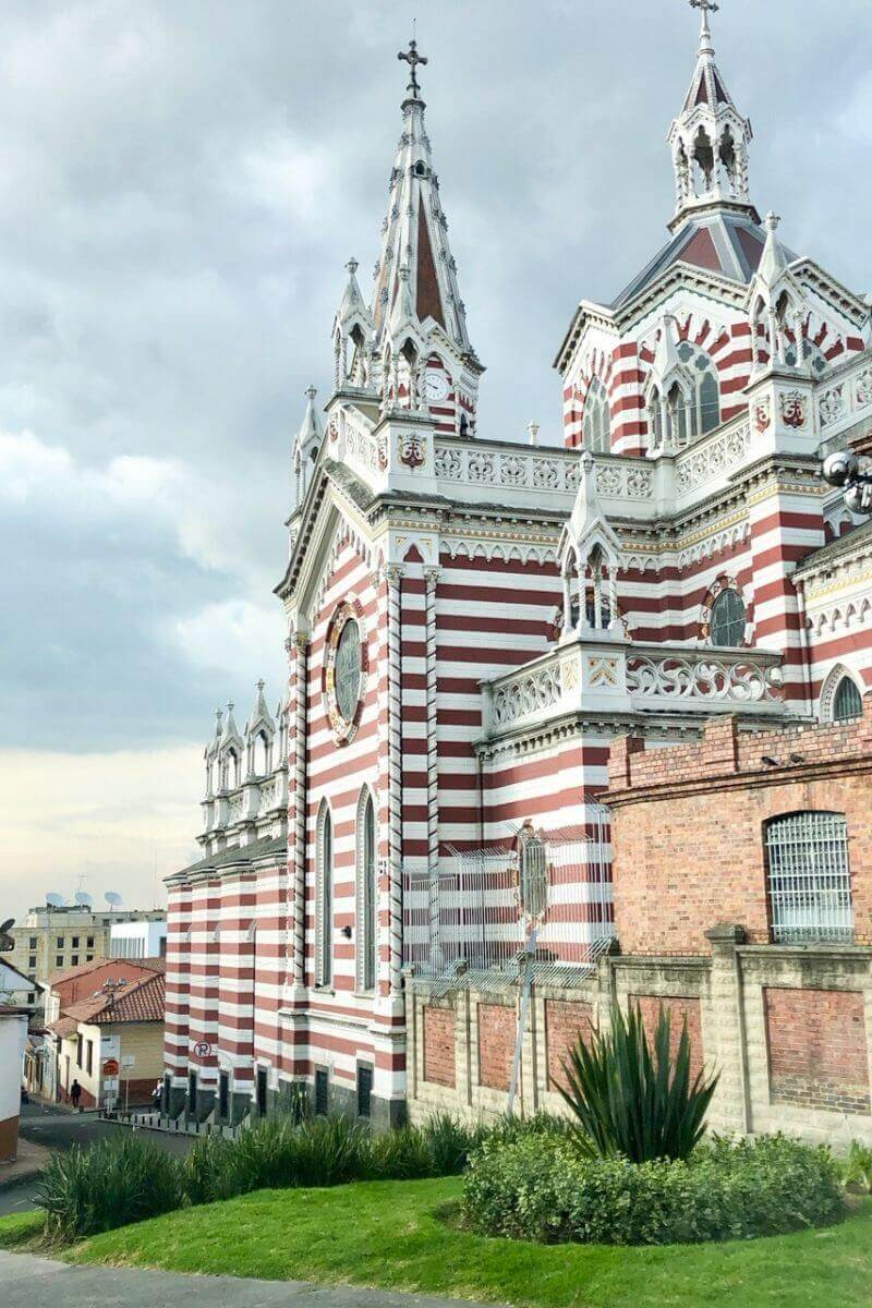 Bogota Candycane Church, Colombia